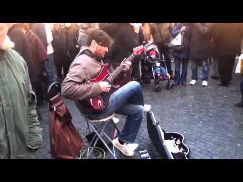 Street guitarist (Marcello Calabrese) plays Stairway To Heaven Video Download