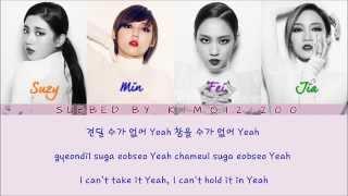 Miss A Hush Hangul Romanization English Color Picture Coded HD