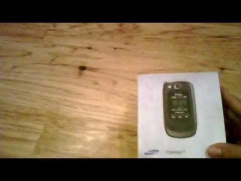 samsung convoy 2 unboxing