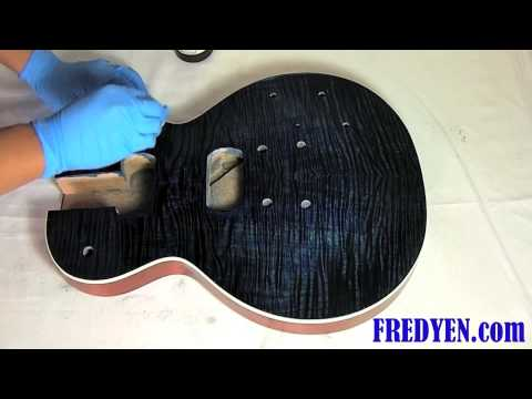 DIY Les Paul Guitar Kit (Part 3: Applying Oil Finish)