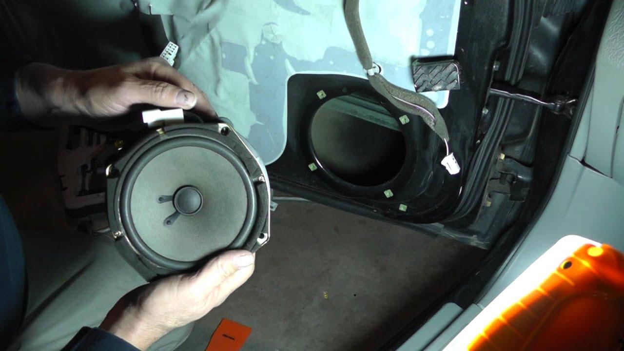Suzuki Forenza Removing Front Door Panel Part 2 Youtube