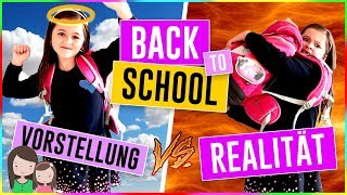Vorstellung vs. Realität BACK TO SCHOOL 📚 Expectation vs Reality - Alles Ava   +++REUPLOAD+++