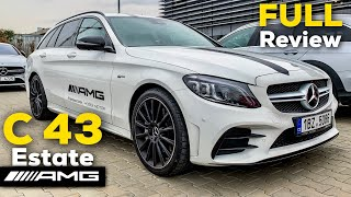 2019 MERCEDES-AMG C43 4MATIC Estate FULL IN-DEPTH REVIEW Exhaust Interior Exterior Infotainment