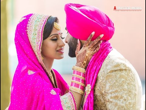 Punjabi Sikh Wedding Harvin + Ameni