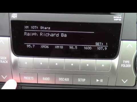2012 Toyota Highlander Xm Radio How To By Toyota City