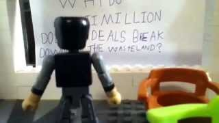 The batman legacy ep 13 the riddler minimates lego stopmoti