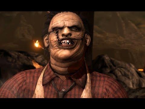 Кожаное Лицо - Мясник в деле | Mortal Kombat XL