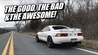 The Good & Bad Of My MR2 (You Need To Buy One)