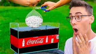 EKSPERYMENT: BALON z MENTOSAMI vs COCA COLA