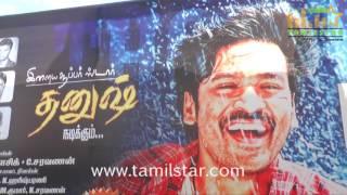 Dhanush Fans Celebrating Thodari Movie Release