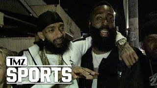 Nipsey Hussle Bros Down w/ James Harden, You're an L.A. Legend! | TMZ Sports