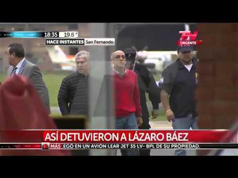 Detuvieron a Lázaro Báez por la causa de lavado de dinero