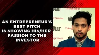 An entrepreneur  s best pitch is