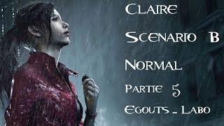 Resident Evil 2 - Claire - Scénario B - Normal - Partie 5