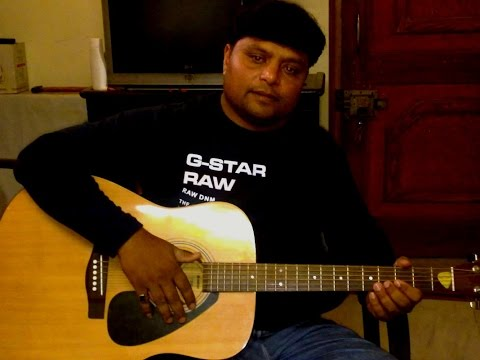 kya hua tera wada chords on guitar...