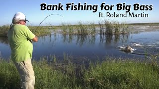 How to Catch Bigger Fish when Bank Fishing - Roland Martin