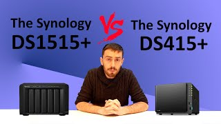 The Synology DS1515+ VS The Synology DS415+