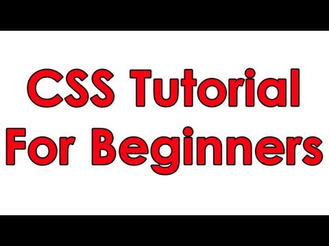 CSS Tutorial Pt 1 - Basic Layout