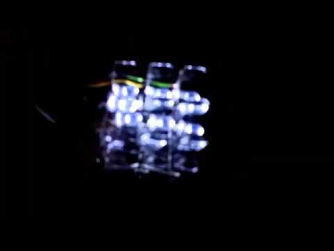 Led cube 3x3x3 arduino