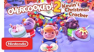 Overcooked! 2 - Kevin's Christmas Cracker Trailer - Nintendo Switch