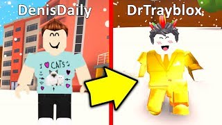 *DENIS AND DANTDM ARE IN THIS GAME* ROBLOX YOUTUBER SIMULATOR