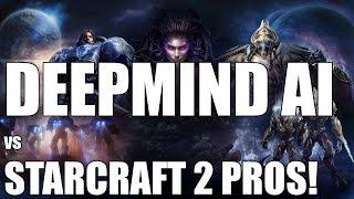 DeepMind AI Battles Starcraft 2 Pros || AlphaStar vs Team Liquid's TLO & Mana!