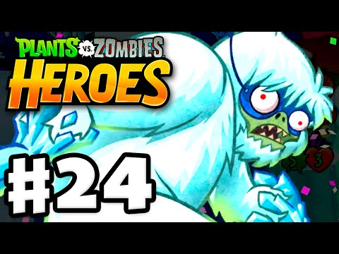 Plants vs. Zombies: Heroes - Gameplay Walkthrough Part 24 - Zombies on Ice! (iOS, Android)