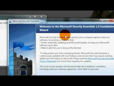 Free windows antiVirus Spyware Software - Microsoft Security Essential