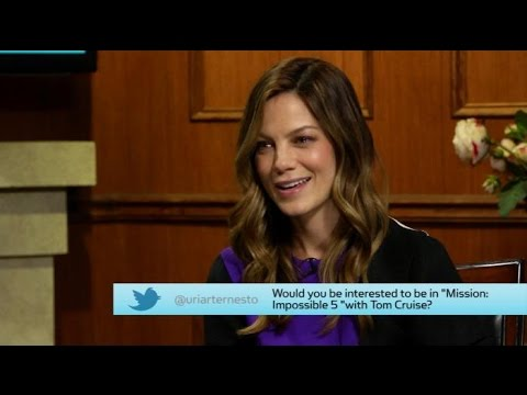 It Was.....It Was Not Always the Plan | Michelle Monaghan | Larry King Now Ora TV