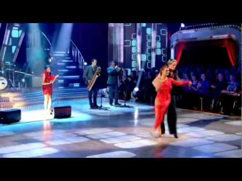 Dionne Bromfield and Amy Winehouse at Strictly Come Dancing 2009
