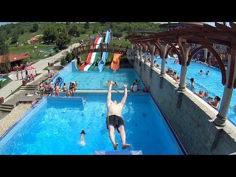 Diving Board at Demjén Barlangfürdő