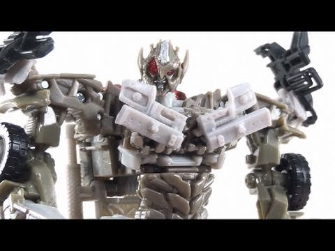 Video Review Of The Transformers 3 Dark Of The Moon (dotm) Voyager Class Megatron video