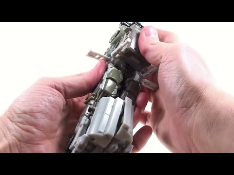 Video Review of the Transformers 3 Dark of the Moon (DOTM) Voyager Class Megatron