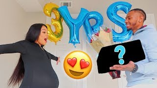 EPIC SURPRISE FOR MY PREGNANT GIRLFRIEND ON OUR 3 YEAR ANNIVERSARY *EMOTIONAL*