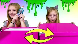 Mystery Box Of Slime SWITCH UP Challenge!!!