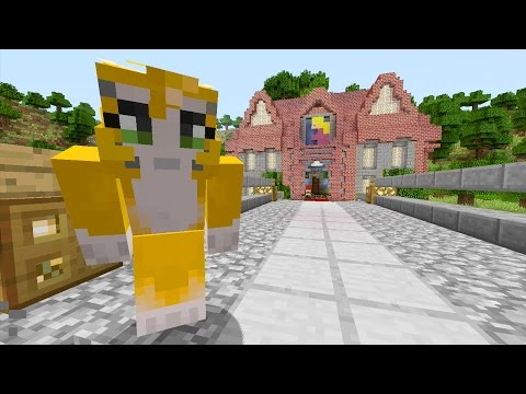 Minecraft Xbox Mario 64 Peachs Castle {1}
