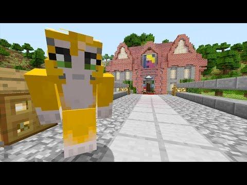 Minecraft Xbox - Mario 64 - Peach's Castle {1}