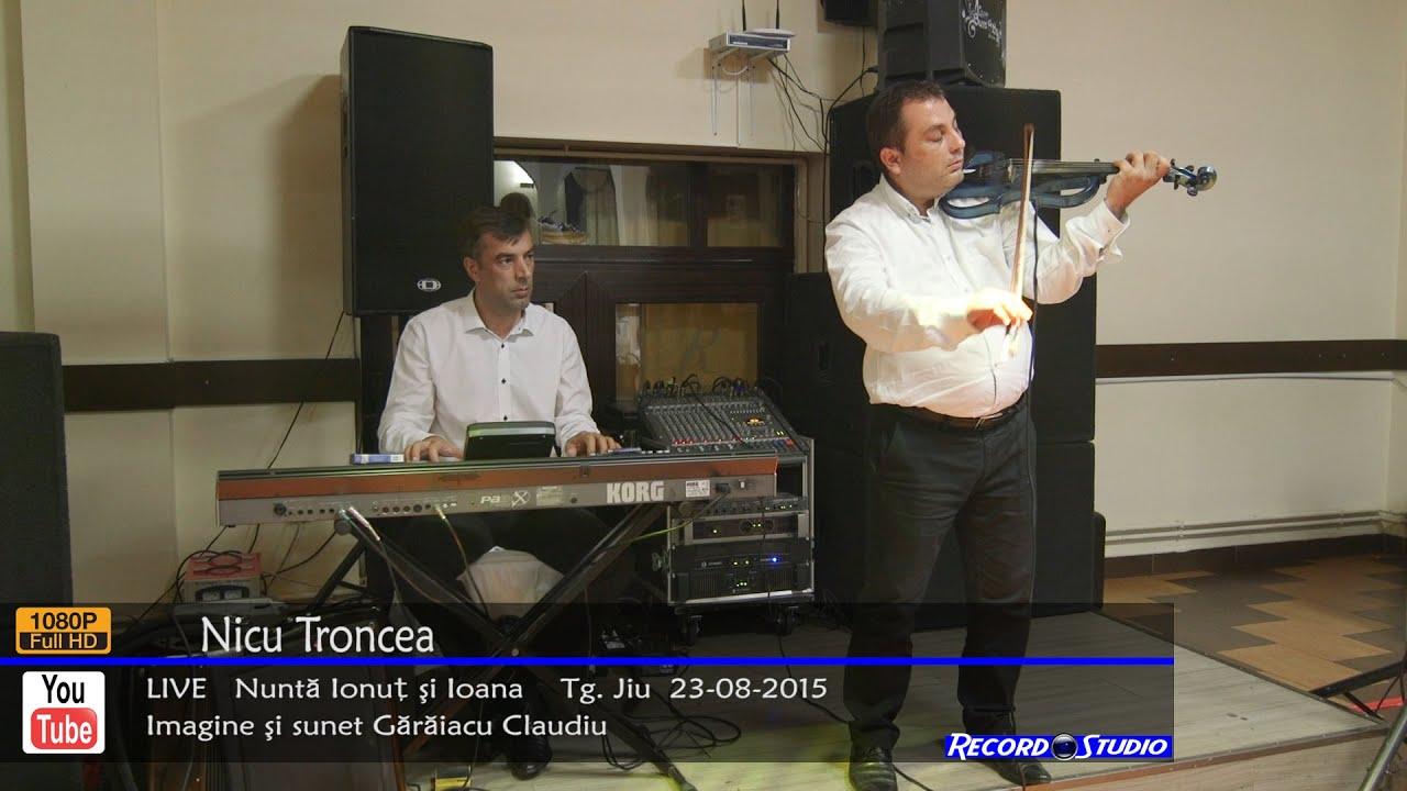 ♫ Nicu Troncea LIVE INSTRUMENTALA VIOARA - Nunta Ionut & Ioana Tg. Jiu 23-08-2015