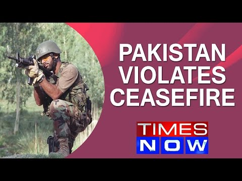 Pakistan violates ceasefire in RS Pura