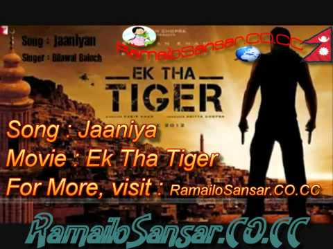 EK THA TIGER- Jaaniya Full Song HDHQ 1080P