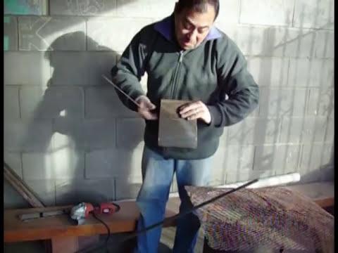 Fabricar una estufa a leña  parte1.mpg