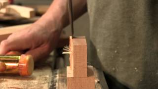 Paul Sellers on Splitting and Paring Tenons