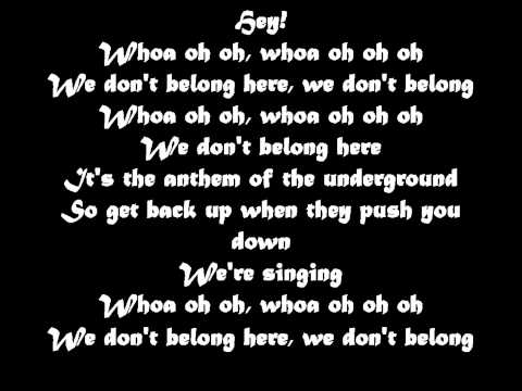 Black Veil Brides - We Dont Belong