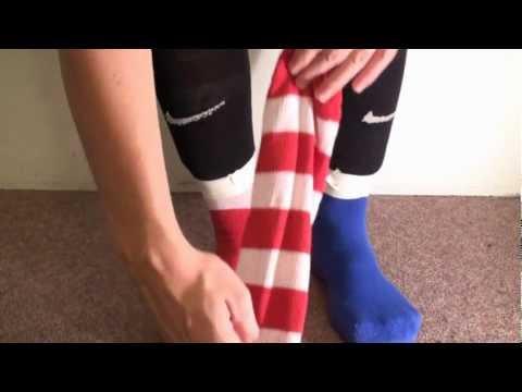 media shoe and sock challenge