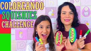 COLOR CHALLENGE con SQUISHIES | AnaNana Toys