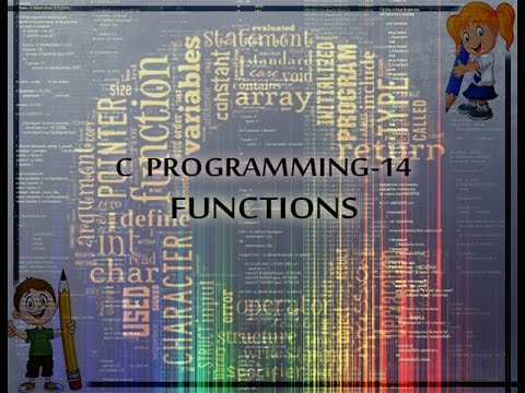 C Programming 14 Functions Youtube