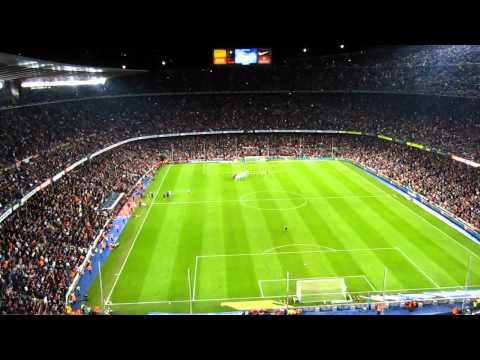 Final minutes in Camp Nou stadium | FC Barcelona VS Sevilla