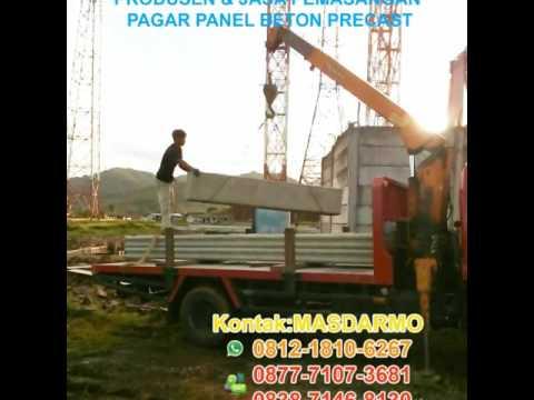 Pemasangan Pagar Panel Beton Banten