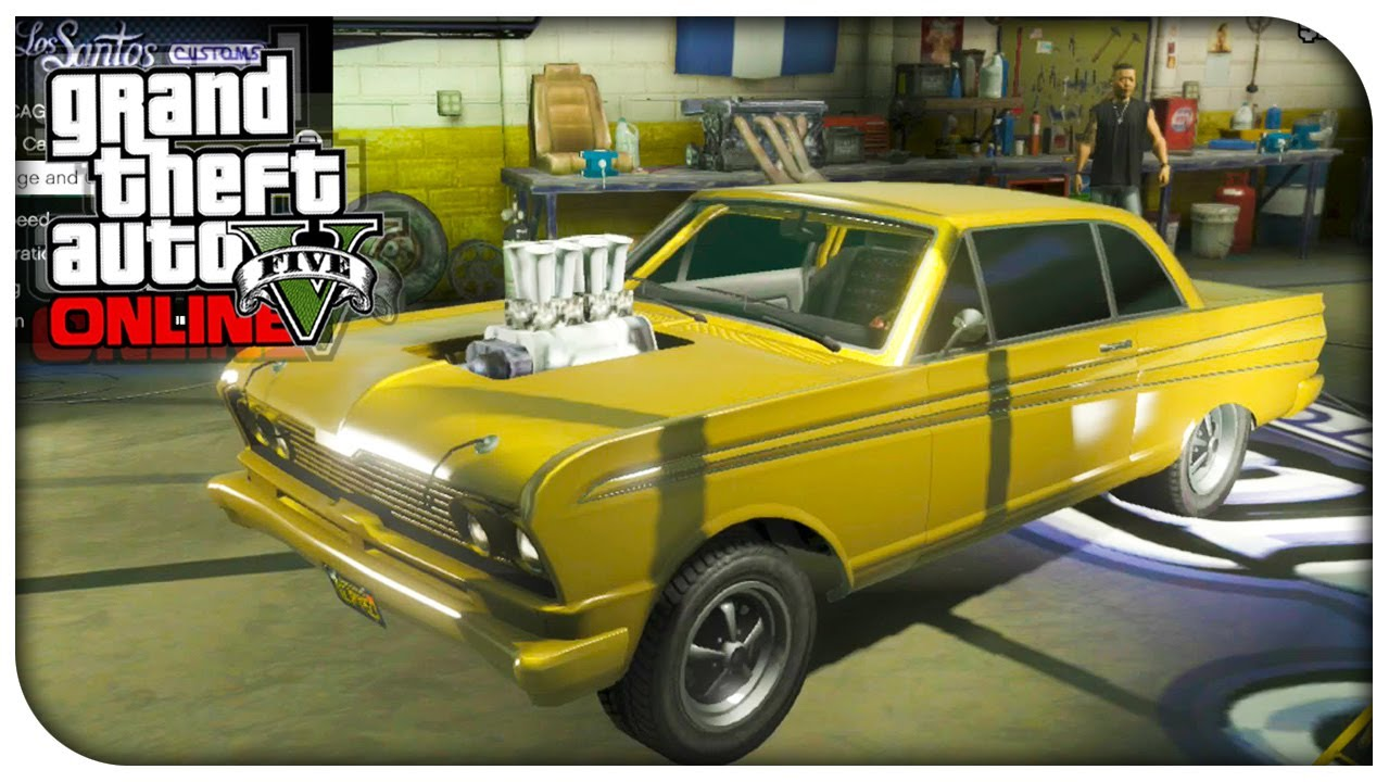 What Is The Best Muscle Car In Gta Online