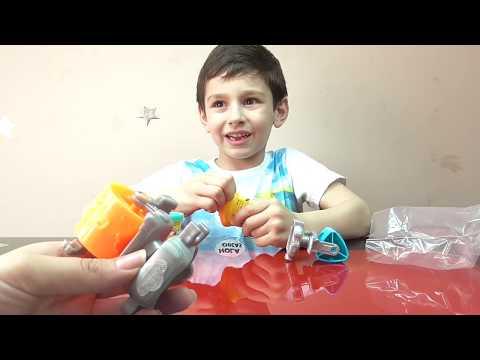 Миньоны набор пластилина распаковка Плей До игрушки Minions Play - Doh set toys